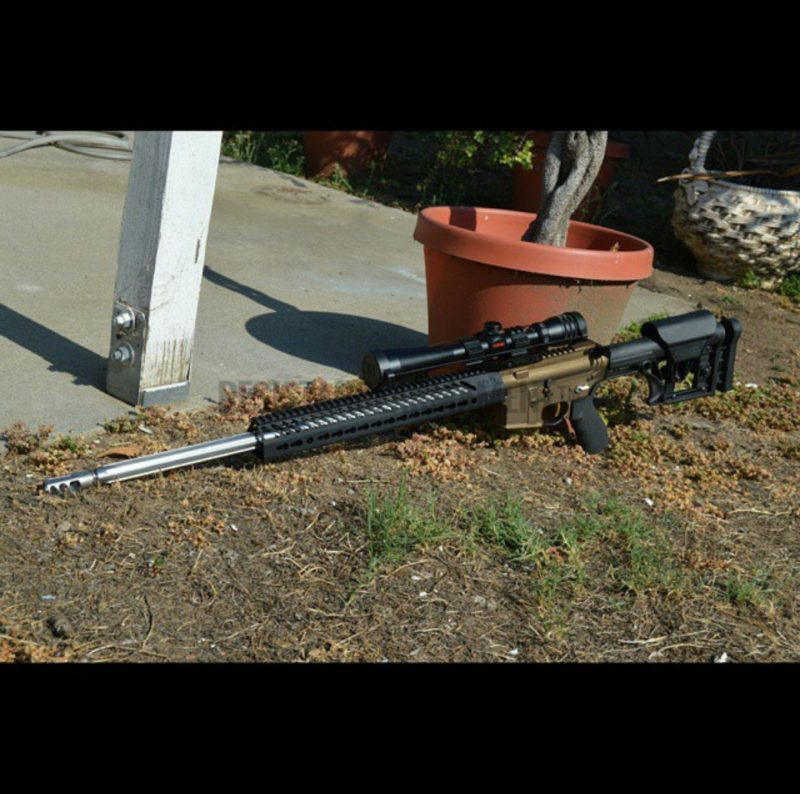 24″ Rainier 223 Wylde Varmint Upper With Polished Extension, Polished Feedramps, Barrel Lapping, Timed Fortis Brake, Headspaced, Seekins Free Floated, Ready To Shoot! Thank you Jose A.