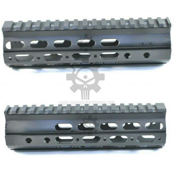 Resistance Armament AR15 7 inch Ultra Slim Free Floating Handguard (10)