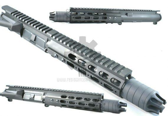 Resistance Armament AR15 7 inch Ultra Slim Free Floating Handguard (8)