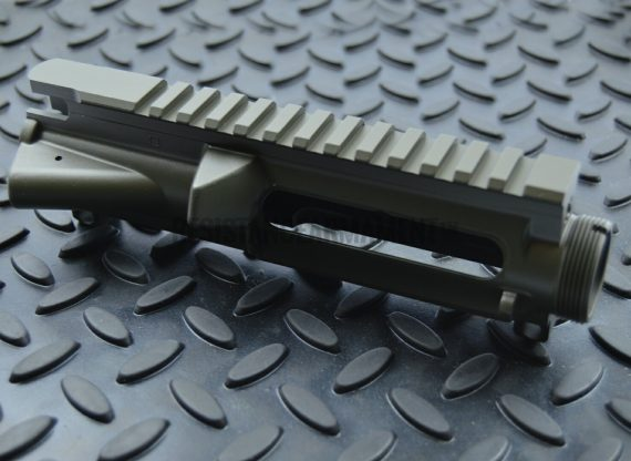 Resistance Armament AR15 Anderson Stripped Upper Receiver Magpul OD Green Cerakote 10