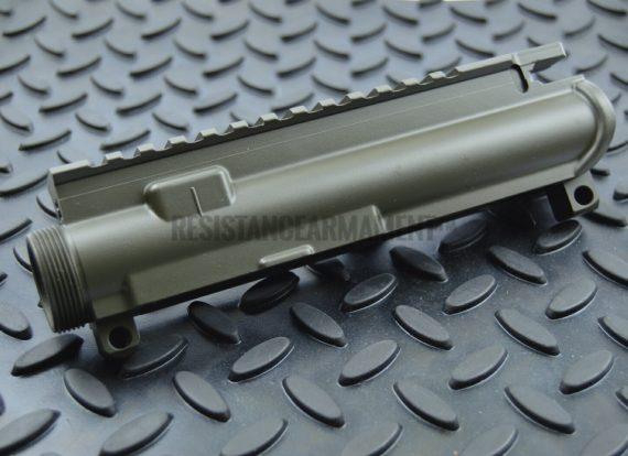 Resistance Armament AR15 Anderson Stripped Upper Receiver Magpul OD Green Cerakote 12