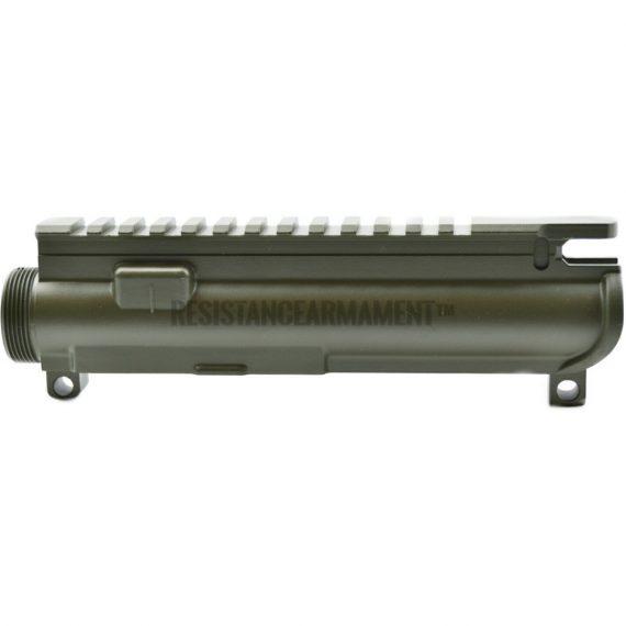 Resistance Armament AR15 Anderson Stripped Upper Receiver Magpul OD Green Cerakote 4