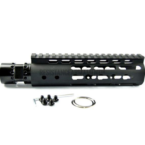 Resistance Armament AR15 Keymod Handguard Slim Keymod Handguard 7 inches carbine length (24)
