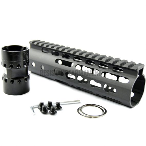 Resistance Armament AR15 Keymod Handguard Slim Keymod Handguard 7 inches carbine length (26)
